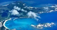 航拍冲绳图片