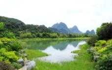 桂林秀峰区琴潭山水图片