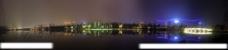 锦城湖之夜图片