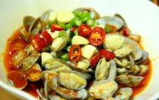 炒花蛤图片