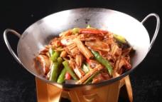 干锅鸭肠图片