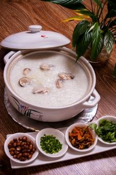 生蚝粥图片