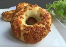 芝士面包圈图片