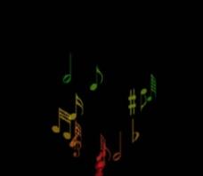 音符飞舞视频
