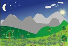 山水图图片