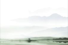 水墨淡雅背景图片