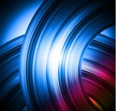 漩涡圆环 背景图片