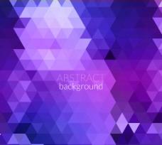 紫色三角背景图片