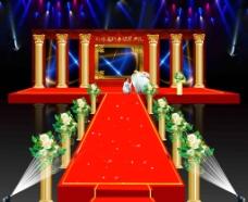 婚礼效果图图片