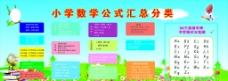 小学数学公式分类图片