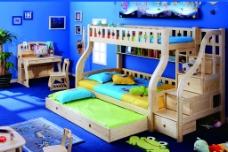 儿童实木家具图片