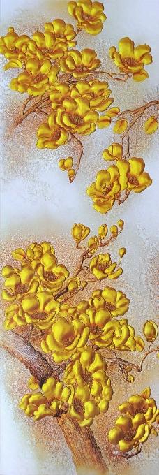 金色玉兰图片