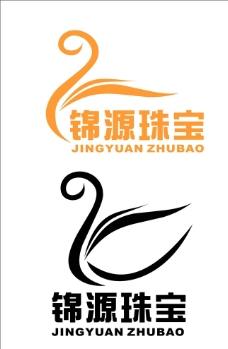 JY字母组合变形LOGO图片