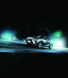雷克萨斯汽车广告图片