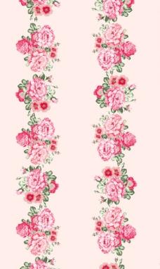 玫瑰花面料花型图片