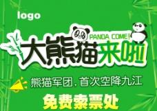 熊猫展图片