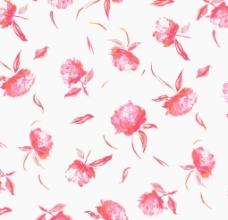 玫瑰花印花分色花型素材图片