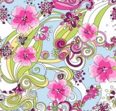 面料花型图片