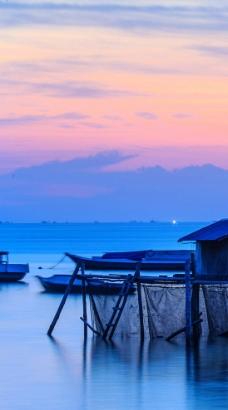 印尼水上屋图片