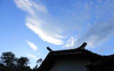 屋顶的翅膀图片