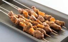 烤羊肉串图片