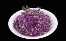 凉拌紫甘蓝图片