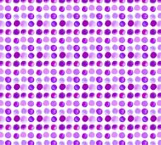 紫色水彩圆点 无缝背景图片