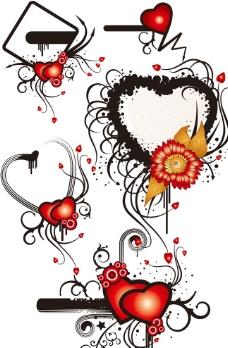 浪漫花纹图片