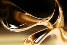 金色金属质感背景图片