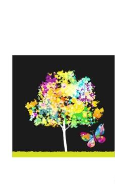 矢量大树图片