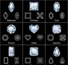 钻石效果图片