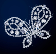 蝴蝶钻石图片