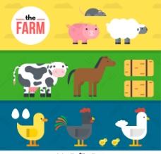 动物 插图图片