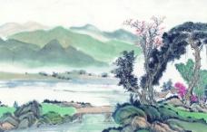 古代国画山水图片