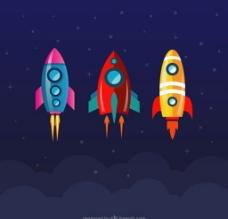 火箭飞船图片