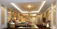 豪华欧式房间图片