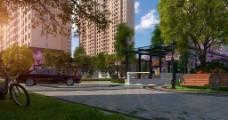 建筑景观效果图图片
