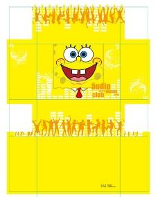 黄色纸巾盒图片