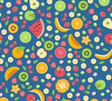 水果无缝背景图片