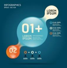 创意信息图表素材图片