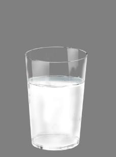 透明水杯图片