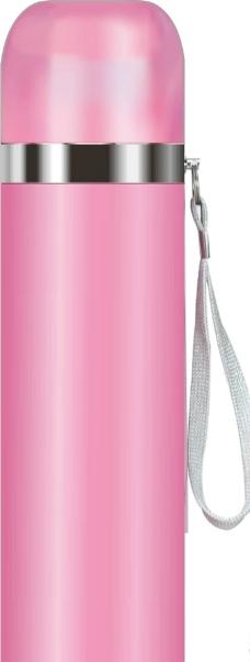杯子粉色矢量图图片