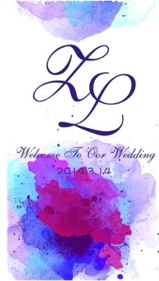 婚礼字母图片