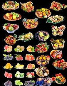 水果篮图片