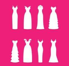 婚纱矢量图图片