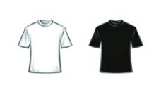 T恤模板图片