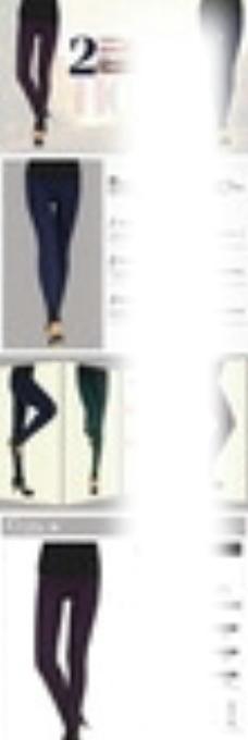 淘宝天猫女裤详情页描述图模板图片