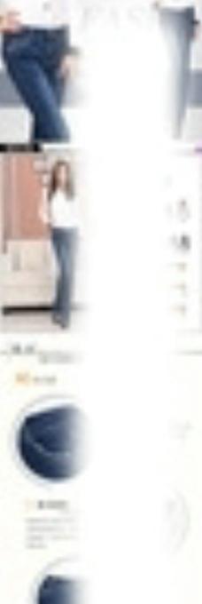 淘宝女裤详情页描述图图片