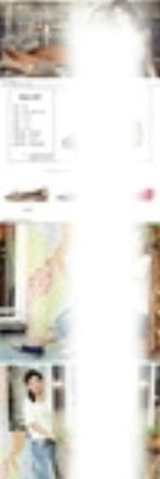 淘宝女鞋详情页PSD素材图片