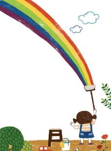 卡通儿童背景图片